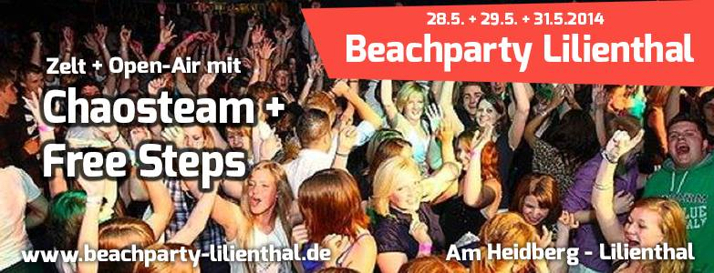 """ChaosTeam"" meets Beachparty Lilienthal"