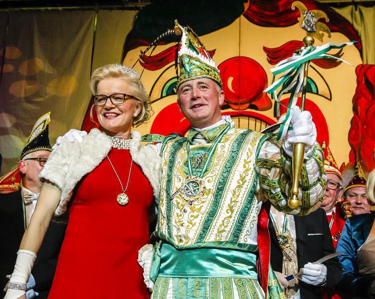 Prinzen-Proklamation der Karnevalsgesellschaft Emsdetten