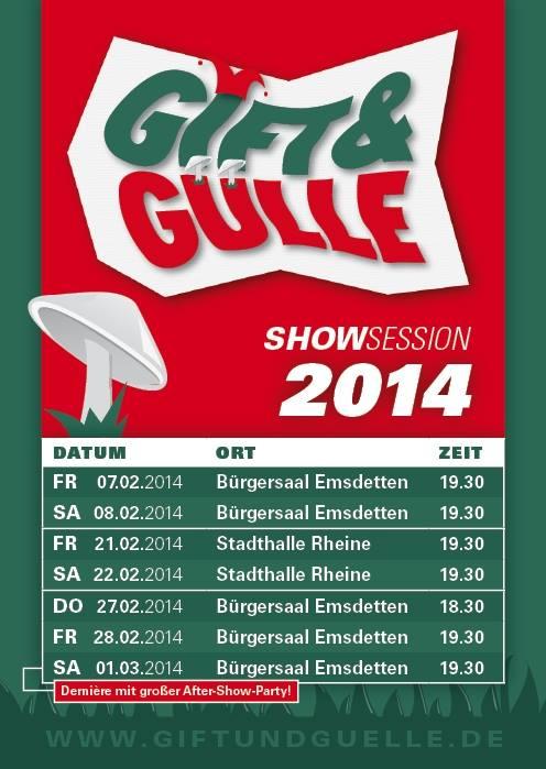 Gift & Gülle 2014