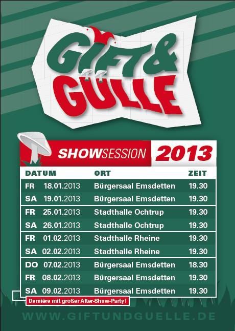 Gift & Gülle Dernière 2013