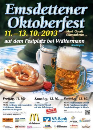 Emsdettener Oktoberfest 2013