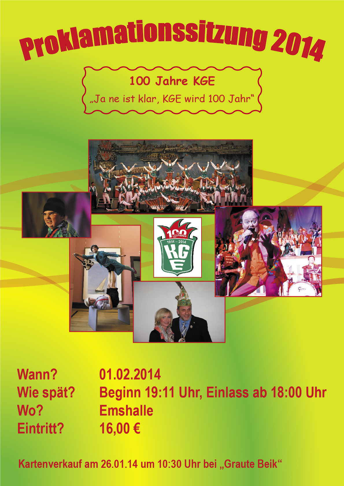 100 Jahre KGE