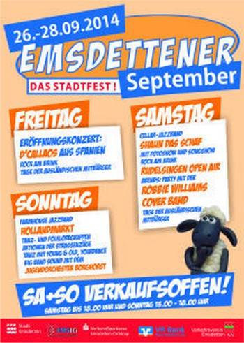 Stadtfest: Emsdettener September 2014