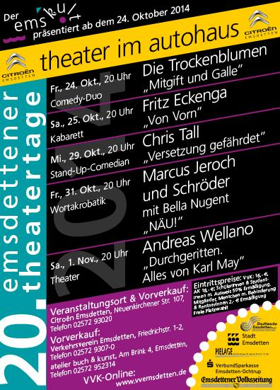 Emsdettener Theatertage 2014