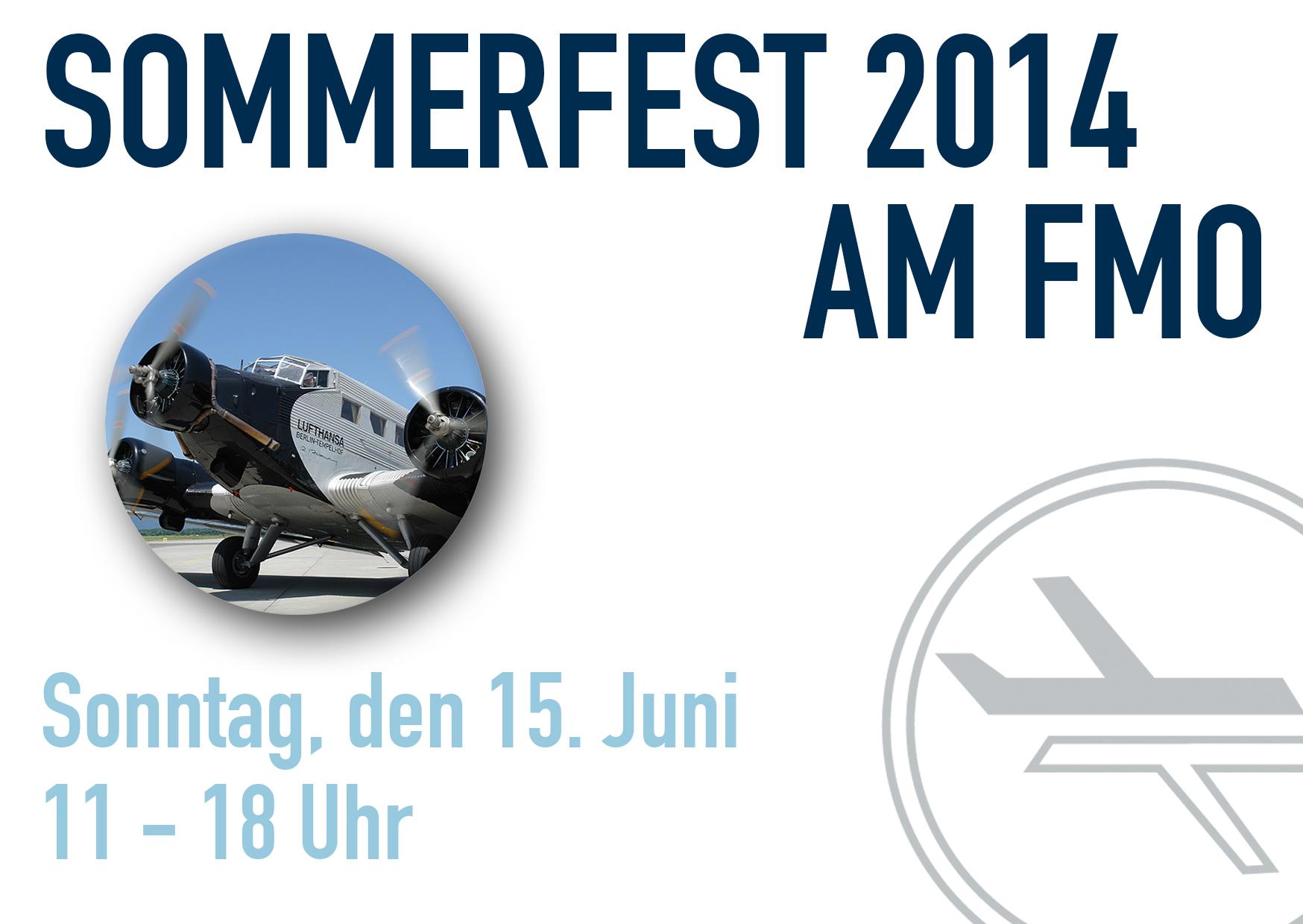Sommerfest am 15. Juni am Flughafen Münster/Osnabrück