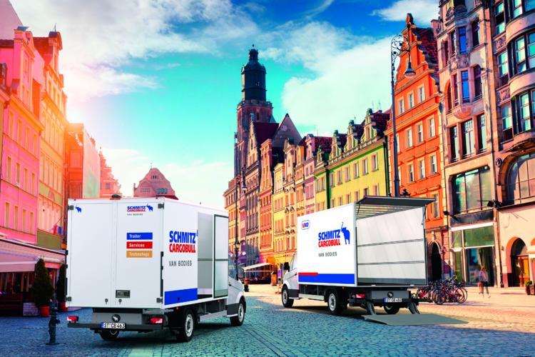 Schmitz Cargobull Pielage Showtechnik
