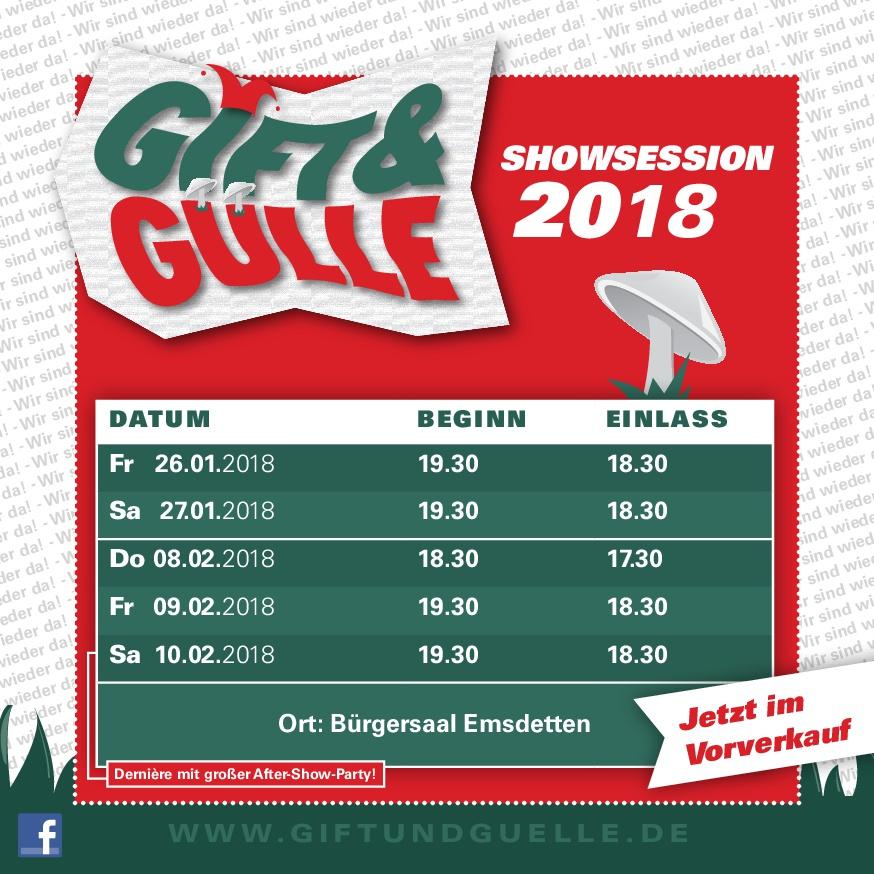 Gift & Gülle 2018